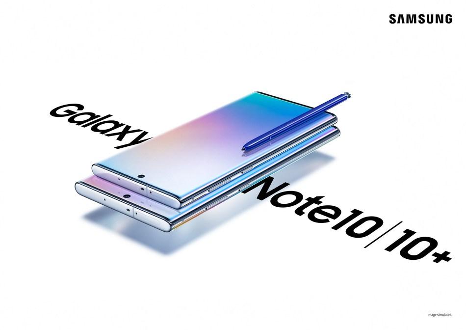 Présentant le Galaxy Note10 : Conçu pour animer les passions grâce à un niveau de puissance supérieur (Groupe CNW/Samsung Electronics Canada)