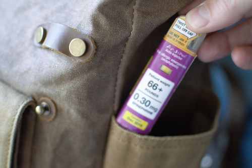 Windgap's Compact Epinephrine Autoinjector (Not approved for sale in the US)