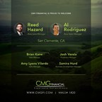 CMG Financial Welcomes Rodriguez-Hazard Team in San Clemente, CA