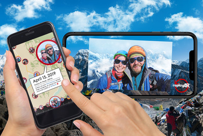 "What if you could go back to a place you visited long ago and see it exactly as it was? ReplayAR is a ""global time capsule"" that uses patented augmented reality (AR) technology to geocache personal experiences and then project those memories on the real-life locations where they actually happened."