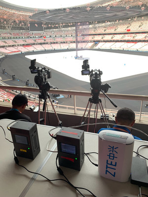 ZTE and China Mobile empower China's first 5G sporting events with 5G Live TV solutions