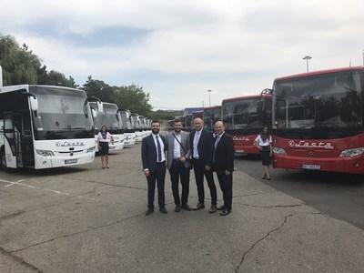 From left to right Aykan Cavlak, Petar Filipoviç, Vladan Sekulic, Hakan Koralp