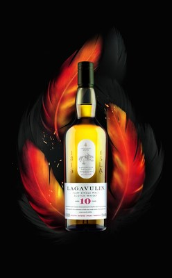 Nuevo whisky escocés single malt Lagavulin 10 Year Old: Un raro y exclusivo placer para viajeros