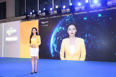 "Sogou Unveils its AI Vocational Avatar ""Yanny"" at COL+ 2019"