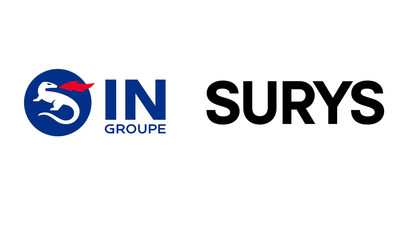 IN Groupe and SURYS Logo