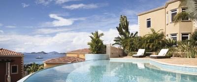 Beautiful vistas at The Hills Saint John, U.S. Virgin Islands