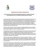 Déclaration Conjointe Des Dirigeants De La Garde Côtière Canadienne Et De La Garde Côtière Des États-Unis (Groupe CNW/Pêches et Océans Canada - Région du Centre et Arctique)