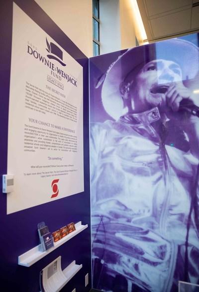 La Banque Scotia inaugure un espace commémoratif en partenariat avec la Fondation Gord Downie et Chanie Wenjack (Groupe CNW/Scotiabank)