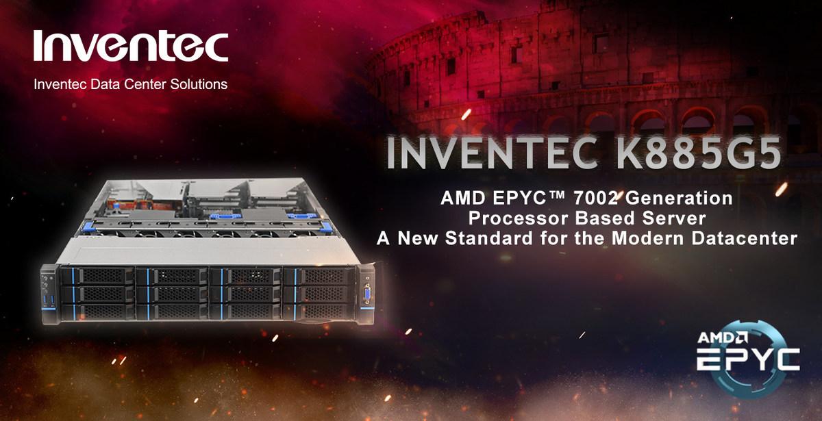 Inventec Delivers AMD EPYC™ 7002 Series Processor Solutions