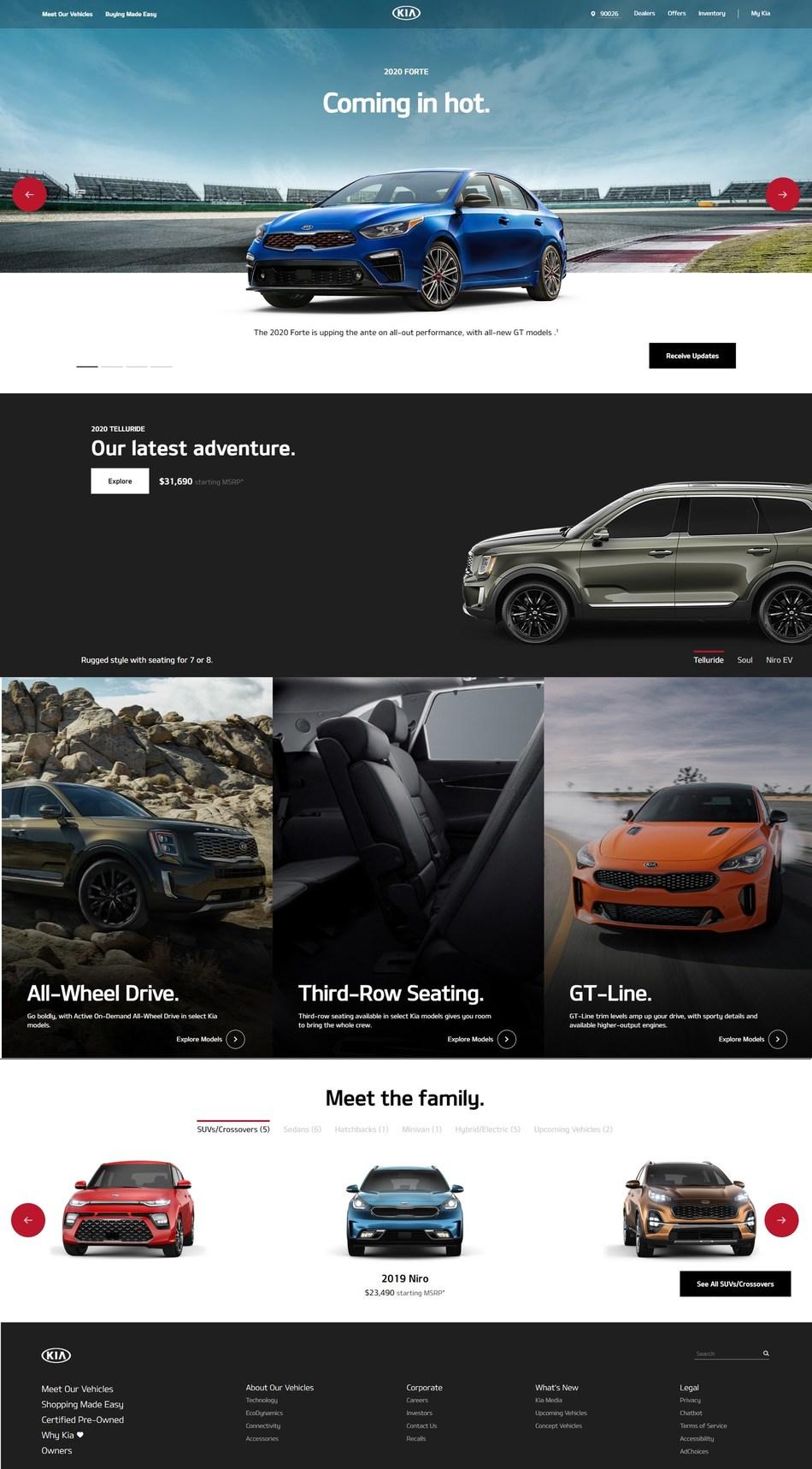 Kia Motors America Launches Redesigned Kia com