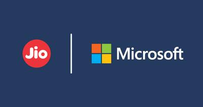Jio与微软达成战略合作,加速印度数字化转型   美通社