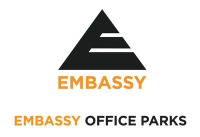 Embassy Office Parks Logo (PRNewsfoto/Embassy Office Parks REIT)