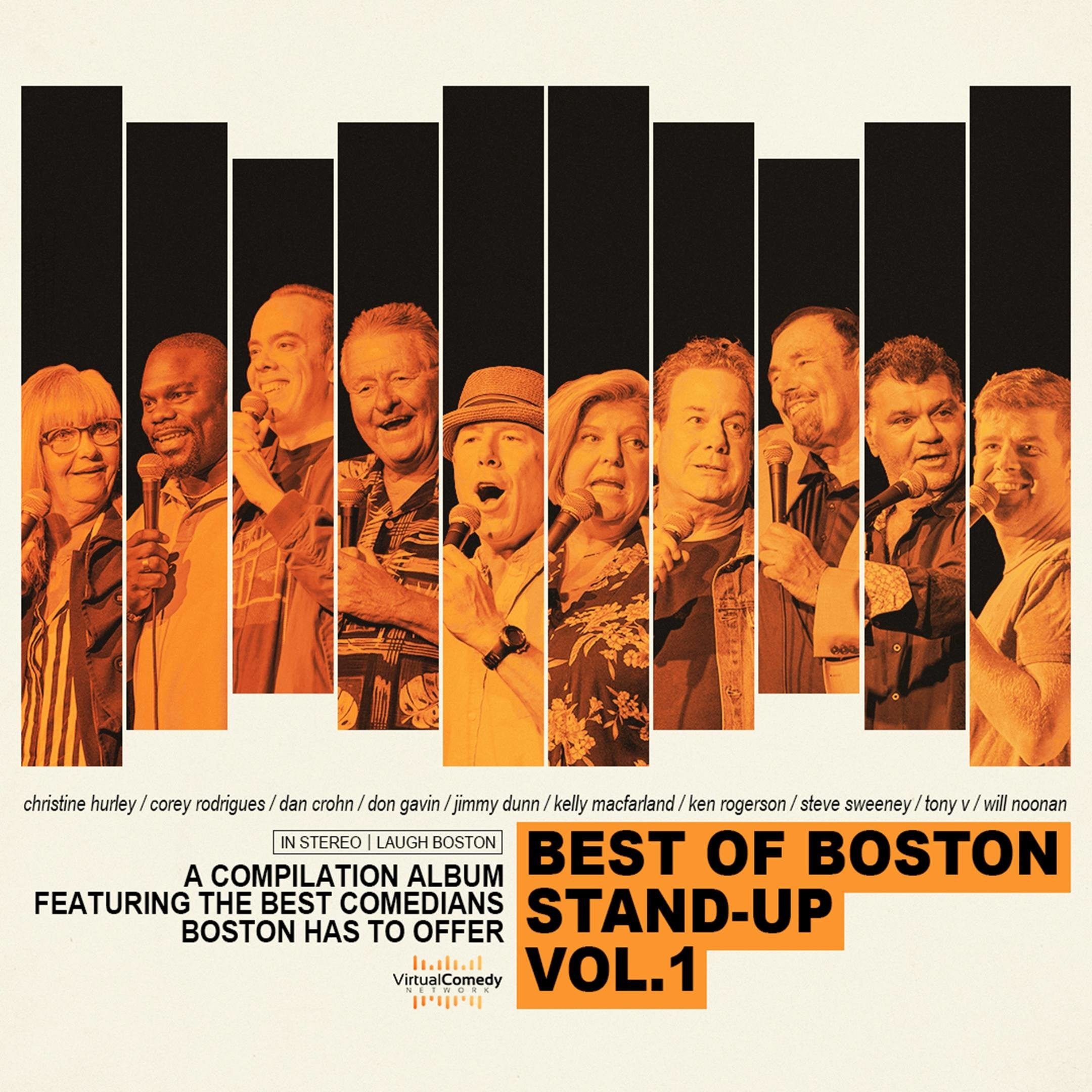 Boston's Best Comedians Come Together for All-star Album