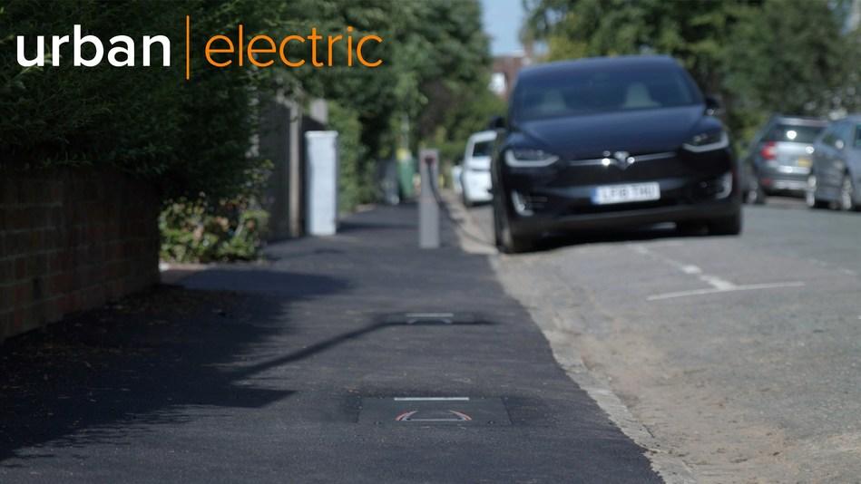 Urban Electric's pop-up on-street EV charging hub