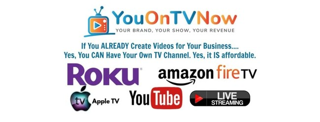 You. On TV, Now! Channel Creation Service