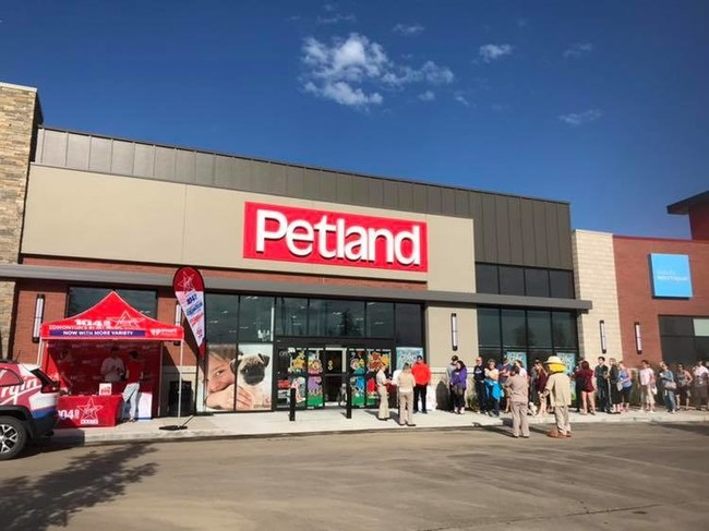 Petland Canada opens its newest location in Harvest Pointe in Edmonton.