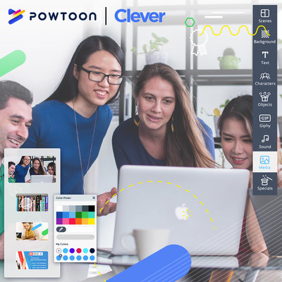 Powtoon Announces New Partnership With Clever