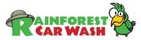 Rainforest Car Wash Logo
