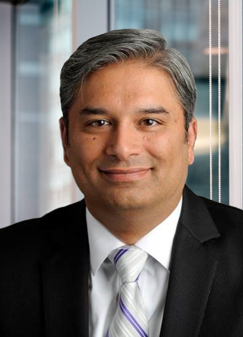 Zeeshan Naqvi, vice president, treasurer at Diebold Nixdorf