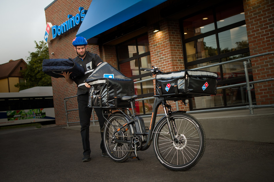 Domino's stores across the U.S. will soon have the option to use custom e-bikes for pizza delivery through a partnership with Rad Power Bikes – North America's largest e-bike brand.