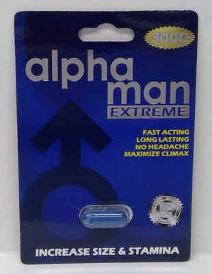 Alpha Man Extreme 3000 (Groupe CNW/Santé Canada)