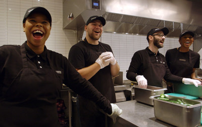 Over 2,600 Chipotle employees across 135 restaurants qualified to earn up to an extra week of pay as a result of its newly announced crew bonus program.