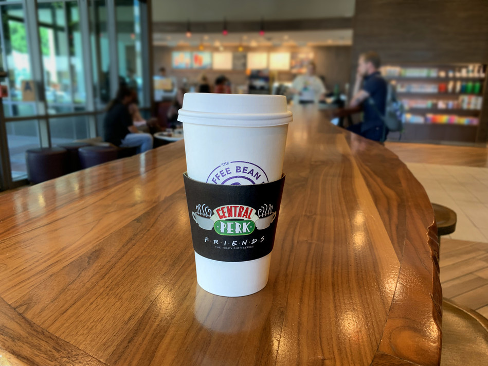 The One Where Central Perk Pops Up At The Coffee Bean & Tea Leaf