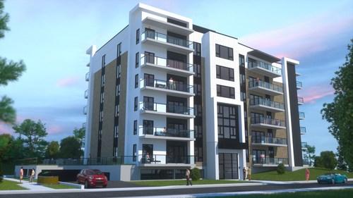 Condos locatifs de prestige, Le Quartier R Extra (Groupe CNW/Les Immeubles Roussin)