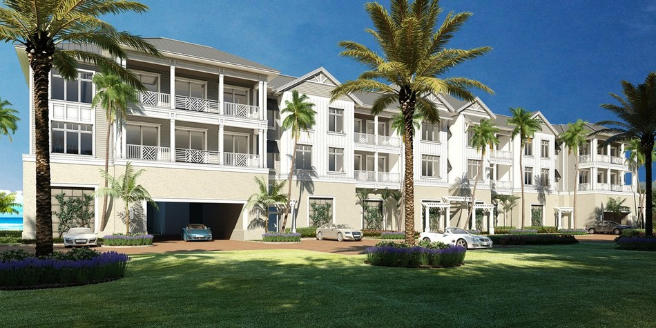 Surfsedge condominiums at Indian River Shores, with development by Lutgert Companies and Interior Design by Clive Daniel Home.