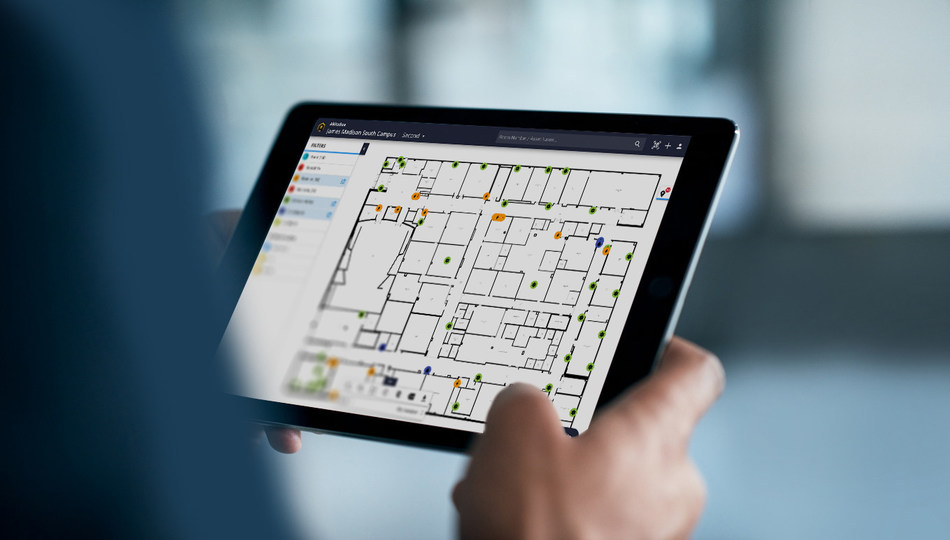 The AkitaBox software comes with an interactive floor plan viewer, preventative maintenance and work order modules and a powerful reporting dashboard — all free for a year when customers purchase building data collection services by the company to update their floor plans.