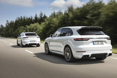 2020 Porsche Cayenne Turbo S E-Hybrid and 2020 Porsche Cayenne Turbo S E-Hybrid Coupe