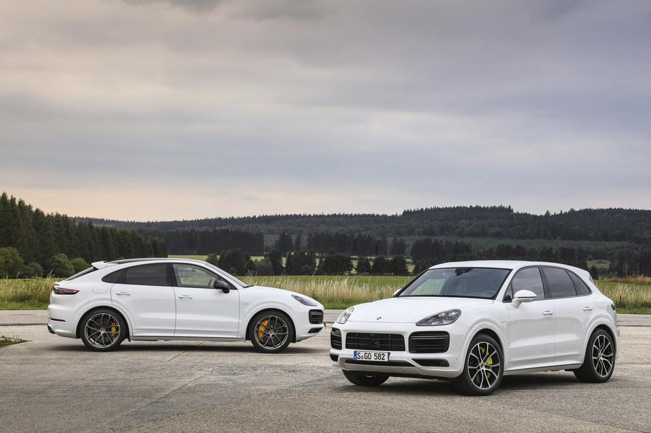 2020 Porsche Cayenne Turbo S-E Hybrid and 2020 Porsche Cayenne Turbo S E-Hybrid Coupe