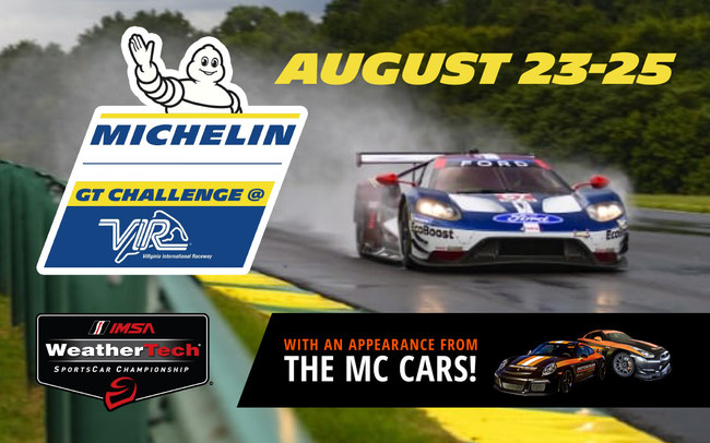On the Saturday of race weekend, from 9:00AM - 5:00PM EST, event attendees can enter the Hot Lap with Lally Giveaway.