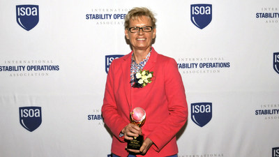 KBR's Ella Studer wins ISOA Lifetime Achievement Award