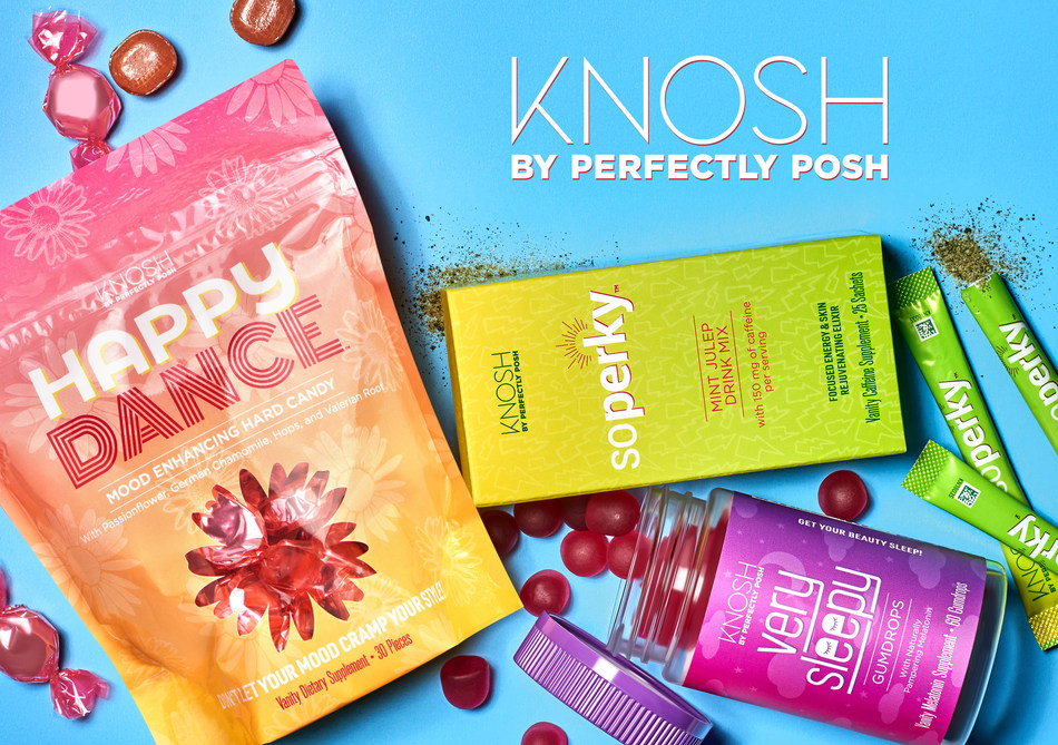Perfectly Posh Introduces New Knosh Vanity Supplement Line