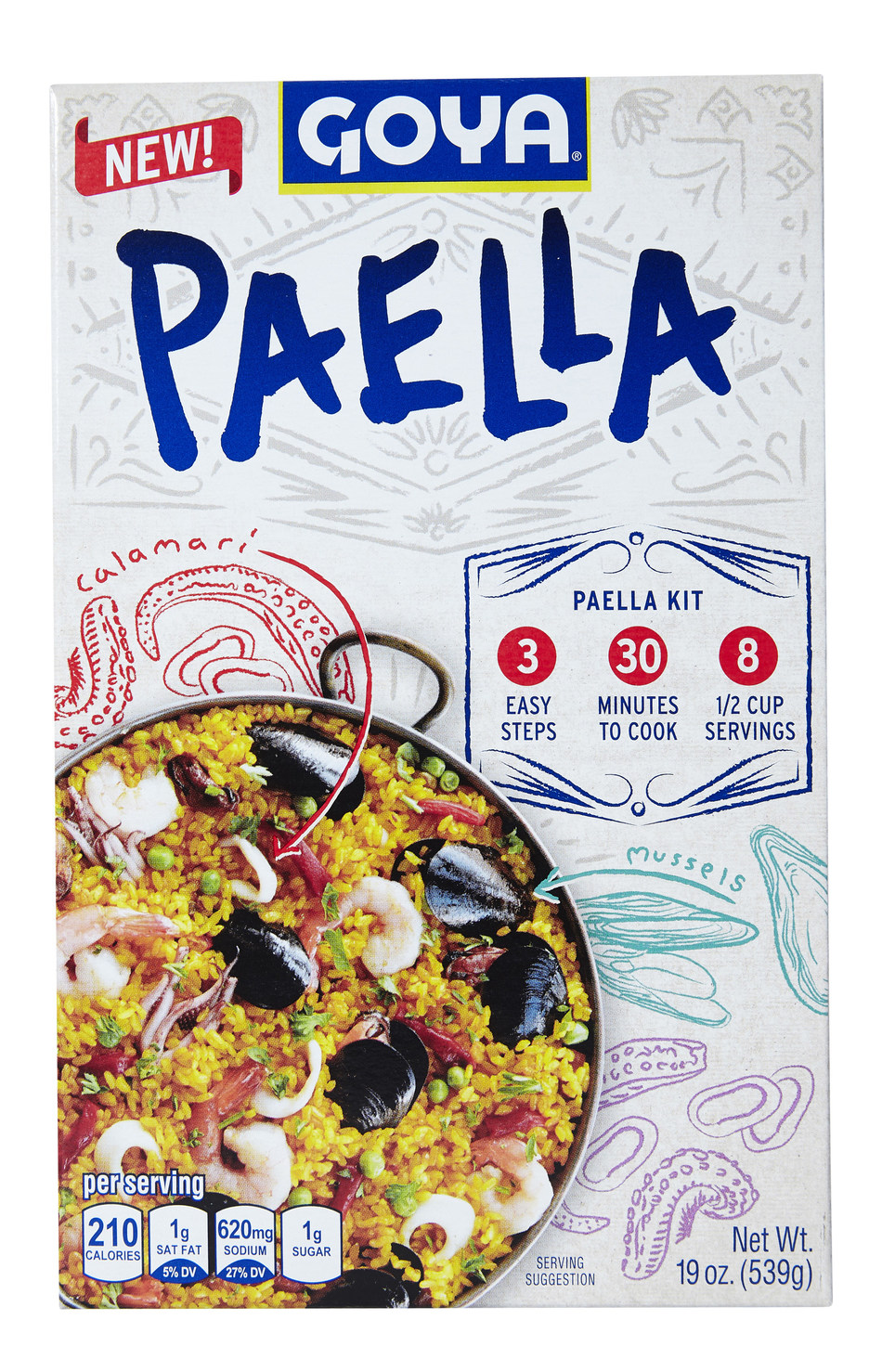 Goya Brings the Tastes of Spain to U.S. Dinner Tables With the Launch of Its New Goya Paella Rice Kit