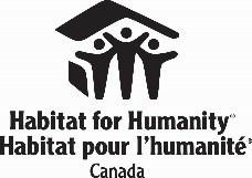 Logo : Habitat pour l'humanité Canada (Groupe CNW/Société canadienne d'hypothèques et de logement)