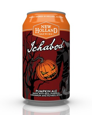 New Holland Brewing Releases Limited-Batch Pumpkin Ale, Ichabod