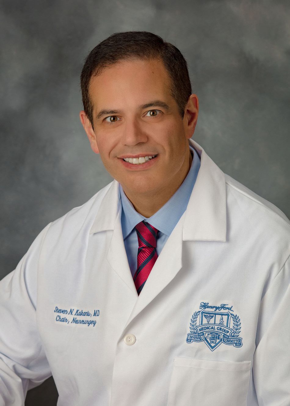 Steven Kalkanis, M.D., chairman of the Department of Neurosurgery at Henry Ford Health System and medical director of the Henry Ford Cancer Institute.