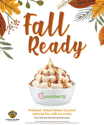 Pinkberry Is «Fall Ready» with New Pinkbee's Salted Butter Caramel Flavor