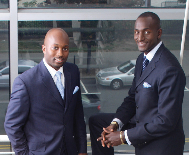 Randall Pinkett and Lawrence Hibbert of BCT Partners