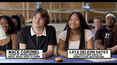"""End Allergies Together (E.A.T.), a non-profit organization that funds research to help solve the growing food allergy epidemic, along with four food allergy patient organizations, launched a new Public Service Announcement (PSA), """"Spell It Out,"""" today that promotes the need for basic food allergy education in underserved communities. The PSA stars teen actors Mace Coronel (of Nickelodeon's Nicky, Ricky, Dicky and Dawn) and Laya Deleon Hayes (of Disney's Doc McStuffins) as Spelling Bee judges."""