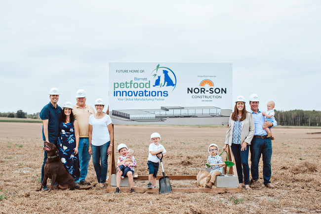 Three Generations of Barrett Family at Groundbreaking of New Facility (Photo by: Chelsie Elizabeth Photography)