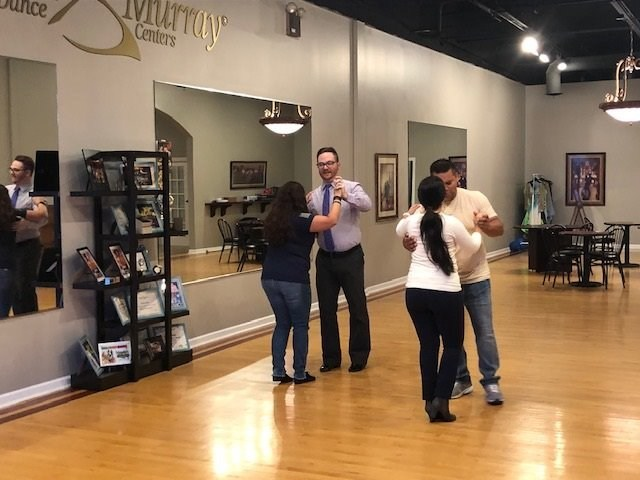 "National Guard veteran Evamarie Duff doesn't mind driving two hours to network with other veterans. Recently, she even put a little spring in her step by joining a dance lesson organized by Wounded Warrior Project® (WWP). ""I grew up dancing,"" Evamarie said. ""Where I currently live, I don't have that option – it's a small town in the middle of a corn field, about 50 or 60 miles from a dance studio."" The dance lessons are offered through WWP's Physical Health and Wellness program."