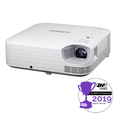 "Casio Receives Best of InfoComm 2019 Award from rAVe [PUBS] in the ""Best K-12 Classroom Product"" category"