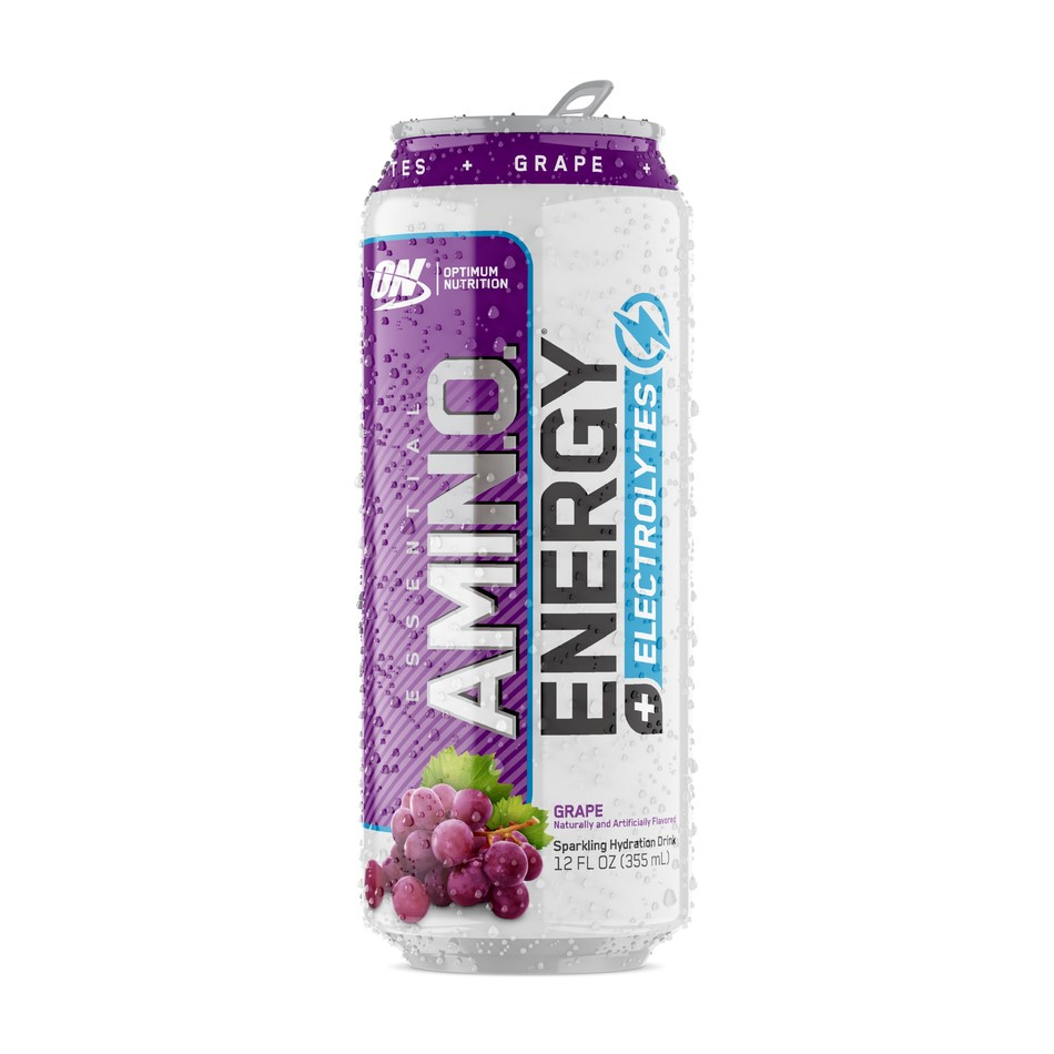 Costco stores nationwide now carry OPTIMUM NUTRITION ESSENTIAL AMIN.O. ENERGY Plus Electrolytes™, a sparkling ready-to-drink beverage that supports energy and endurance, and helps replace electrolytes lost through sweat.