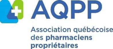 Logo : Association québécoise des pharmaciens propriétaires (Groupe CNW/Association québécoise des pharmaciens propriétaires)