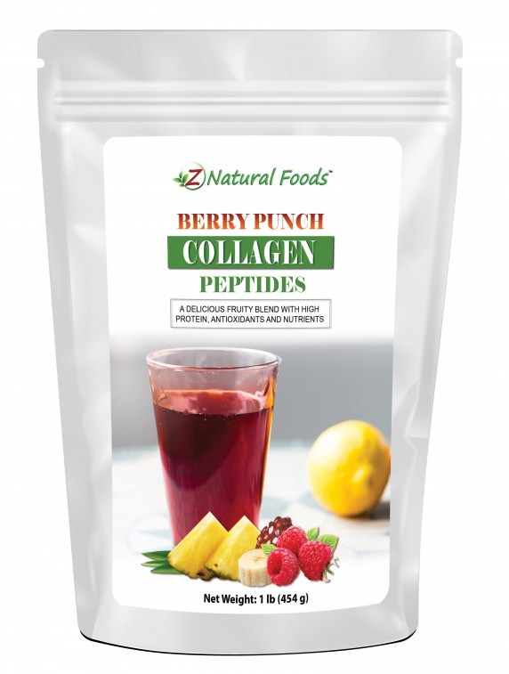 New Berry Punch Collagen Peptides by Z Natural Foods