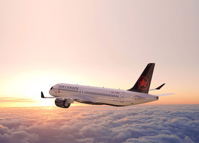 Air Canada announced the first two new routes to be operated with the Airbus A220-300, the only non-stop service between Montreal and Seattle and Toronto and San Jose, California, beginning in spring 2020. (CNW Group/Air Canada)
