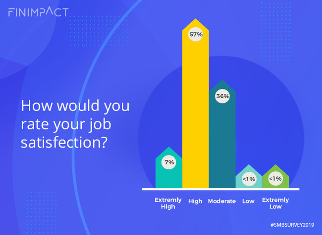 How would you rate your job satisfaction?